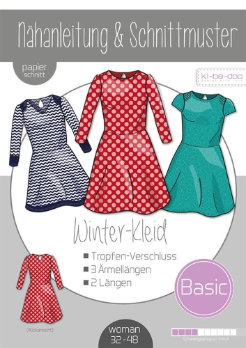 Basic Winterkleid Damen