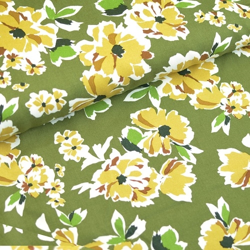 Twill Secret Garden Blumen
