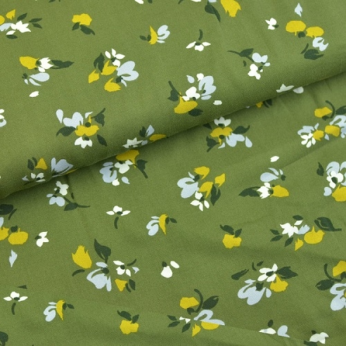 Twill Secret Garden Grosse Blumen
